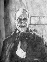 Phantom of the Opera Pencil by bloodedemon