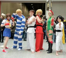 Street Fighter Group by MiniPlum