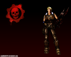 Gears style Anya WP by Candido1225