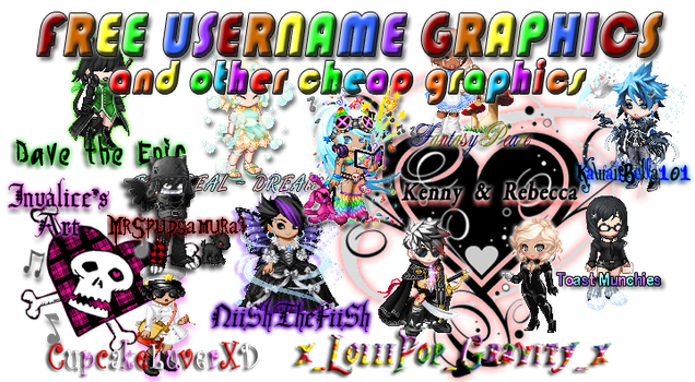 GAIA FREE GRAPHICS by obsessed-with-manga