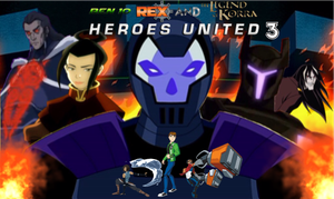 BEN 10 / GENERATOR REX AND THE LEGEND OF KORRA by Crossovercomic