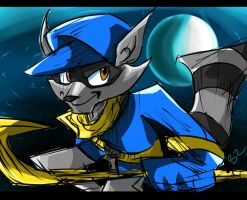 Sly cooper by Omiza