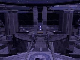 Halo Reach Map: The Prism by KindiChan