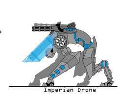 Imperial Drone by The-Red-Right-Hand