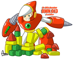 DWN13 Crashman by ApplesRockXP