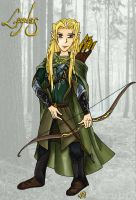 Legolas Greenleaf by Narya91