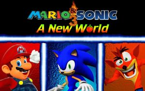 Mario and Sonic 3: A New World by SuperSmashBrosGmod