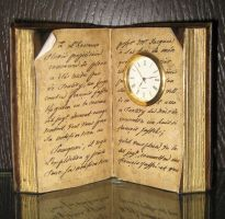 Book clock by ForestGirlStock