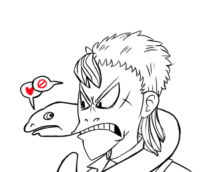 Entry: BUT THE EEL LOVES YOU by baracai