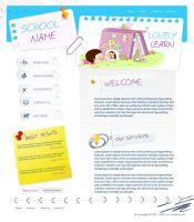 school website by moslima