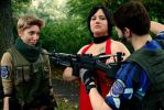 Don't even think about shooting the puppy by x--BloodyRose--x