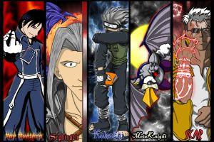 Metrocon Bookmarks Complete by neo-dragon