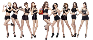 Nine Muses PNG [Render] by GAJMEditions