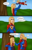 Supergirls vs Mr Ninja p29 by LexiKimble