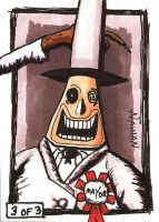 The Mayor Sketch Card by Fellhauer
