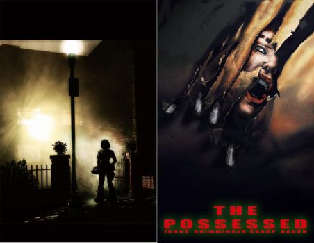 Movie-homage Possessed covers by LiamSharp