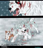 ..:I'll protect you:.. by Meri-theDog