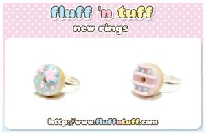 Donut Rings by Fluffntuff