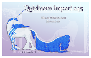 Custom Quirlicorn Import 245 by Astralseed