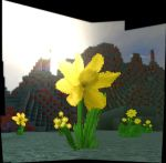 The Yellow Flower by MinecraftPhotography