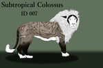 Subtropical Colossus Import 007 by LiaLithiumTM