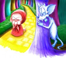 .::Little Red Riding Brain::. by MissusPatches