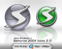 Samurize 2004 Icons 2.0 by weboso