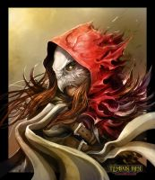 Tempus Ren - Riella Red Hooded Huntress Colour by Eyardt