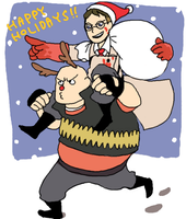TF2 happy holidays by togaco