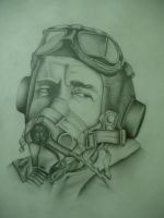 Raf Pilot by giannisk