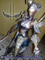 Lineage II Healer Summoner by delay-papercraft