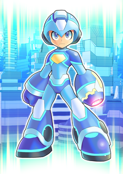 Megaman 2018 By Ultimatemaverickx by V-a-a-N