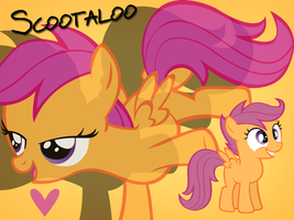Scootaloo Wallpaper by Ichigooneechan66