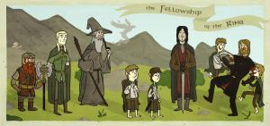 The Fellowship by aleksihca