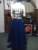Nautical Skirt by AbstractAttic