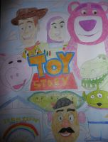 Toy Story Drawing by chloesmith8