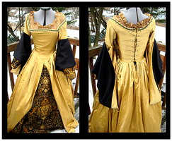 Black and Gold Renaissance by oh-sew-fun