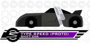Shift Car Type Speed Proto by CometComics