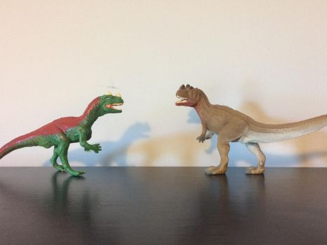 Old vs New Ceratosaurus by JaketheDino