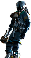 Isaac Clarke Dead Space 3 by IvanCEs