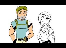Screen: Resident Evil 5 Flash by OMG-BREASTESES