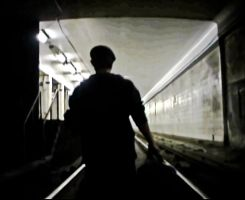 Carter in the Tunnel by 8ankH