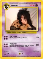 Jake Pitts Pokemon-Card by ChrisTheFox3