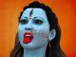 Kali Face by scbr