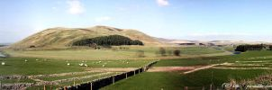 Panorama - Clyde Valley by printsILike