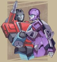 Commission: Perceptor and Life-Line by ai-eye