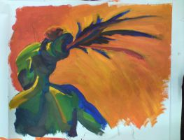 headdress painting, sep9 2010 by azimuth-oakes