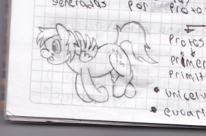 Derpy Cuaderno sketch by dsmo