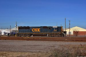 CSX's only highhood by Joseph-W-Johns