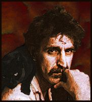 Frank Zappa and friend by PaulBaack